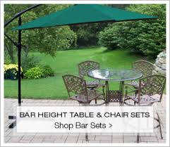 Patio High Table And Chairs Patio Furniture Store Outdoor Table U0026 Chair Sets Free Shipping