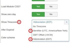 time zone layout how to use ostimer countdown time zones joomlashack