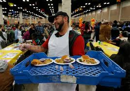 turkey served to tens of thousands in san antonio at jimenez