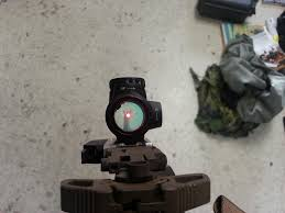 Mro Stock by Trijicon Full Co Witness Profile Mount Adapter For Mro
