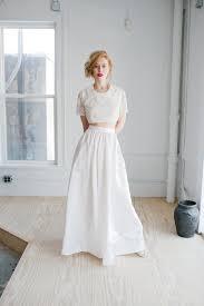 handmade wedding dresses opal wedding dress handmade wedding dress beaded cropped top and
