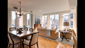 cosy living and dining room combo for bine small kitchen and
