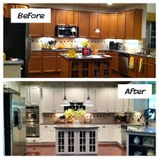 replacing kitchen cabinet doors before and after kitchen cabinet