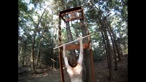 Backyard Obstacle Course Ideas End Of Summer Salmon Ladder And Home Made Obstacle Course Youtube