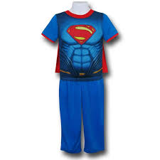 vs superman superman caped pajama set