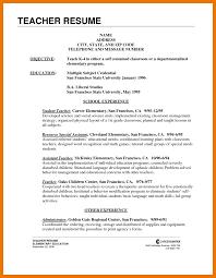 Resume Application Template 12 Application For Teacher Cv Kozanozdra