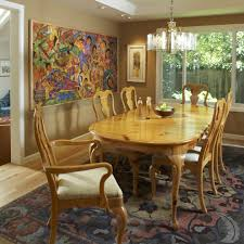 Contemporary Dining Room Lighting Fixtures by Modern Contemporary Dining Room Chandleiler Over A Wooden Table