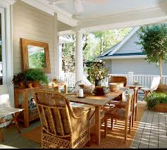 enclosed front porch decorating ideas