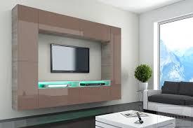Modern Art Wohnzimmer Ideen Wohnwand Modern Art Rheumri Ebenfalls Asombroso Wohnwand