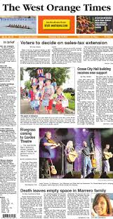 07 10 14 the west orange times by orange observer issuu