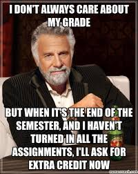 don t always care about my grade