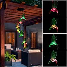 amazon com when pigs fly solar mobile wind chime patio lawn