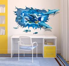 Dolphin Home Decor 3d Wall Murals Bangalore Wall 3d Mural Siddu Art Studio Photos