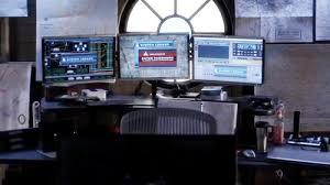 Three Monitor Desk Three Monitor Setup