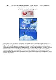 pdf ebook download understanding flight second edition