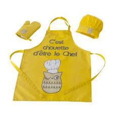 tablier de cuisine pour enfants tablier de cuisine pas cher linge de cuisine la foir fouille