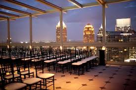 atlanta wedding venues rooftop wedding atlanta rooftop weddings fabulous open air