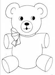 25 teddy bear template ideas bear template