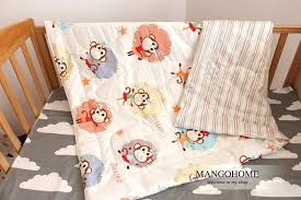 baby duvet 1pcs baby summer duvet air conditioner blanket clouds