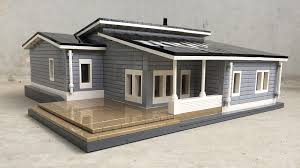 wood lego house hi this model of a modern finnish wooden house was built on
