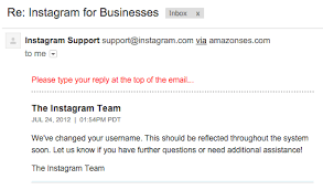 Email Instagram Support   what s the best way to acquire an inactive instagram username