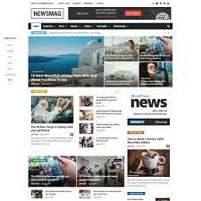 newsmag wordpress theme wordpress themes 2018