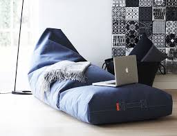 weather resistant casual furniture bean bag lounge