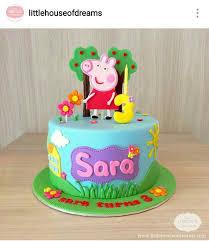 best 25 peppa pig cakes ideas on peppa pig birthday