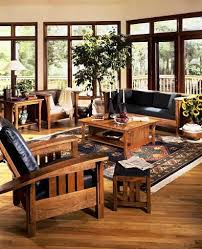 Living Room Furniture Seattle Gorgeous Inspiration Mission Style Living Room Furniture Amish Set