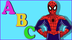 spiderman cartoon abc songs children spiderman abc alphabet