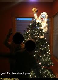 pictures weirdnutdaily what a tree topper