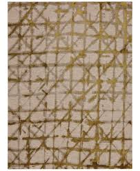 Gold Area Rugs Karastan Enigma Contact Brushed Gold Area Rugs Rugs Macy S