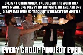 Meme Group - why i love group projects at school