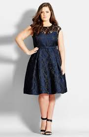 city chic lace neck brocade dress plus size nordstrom