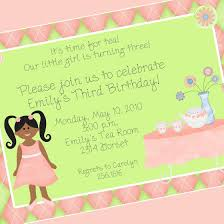 Invitation Cards Size Birthday Invitation Card Clipart 38