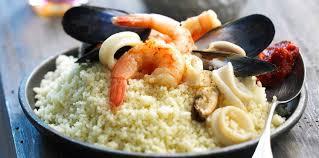 recette cuisine couscous couscous aux fruits de mer recette sur cuisine actuelle