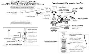 Bathroom Sink Parts Diagram by Parts Of A Bathroom Sink Delta Kitchen Faucet Parts Delta Kitchen