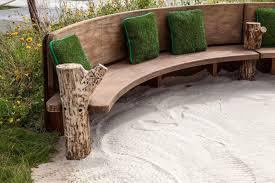 Outdoor Wooden Patio Furniture Garden Bench And Seat Pads Weatherproof Outdoor Furniture Patio