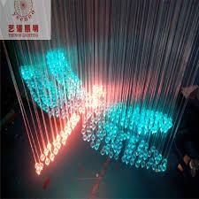 fasion fibra optica cable design lighting colorful dragonfly shape fiber crystal lamp length 0 8 m fiber optic cable led rgb in optic fiber lights from