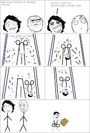 Rage Girl Meme - le girlfriend le rage comics