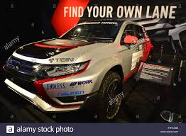 mitsubishi usa manhattan new york usa 23rd mar 2016 the mitsubishi outlander