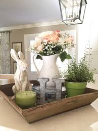 Easter Table Decorations by Spring Decor Pinspiration Fresh Flowers Rabbit And Monograms