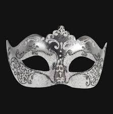 black and white masquerade masks colombina stella silver white masquerade mask vivo masks