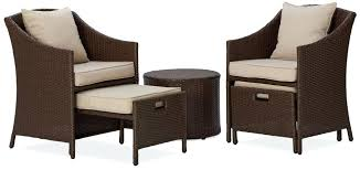 patio furniture with ottomans extraordinary patio chairs with ottomans chair with ottoman round
