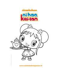coloriages dessin ni hao kai lan fr hellokids com