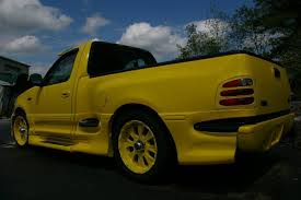Ford F 150 Yellow Truck - 2002 ford boss 5 4 f150 pickup truck yellow clean custom