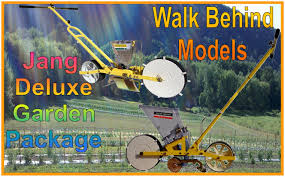 Walk Behind Seed Planter by Deluxe Jang Garden Package Featuring The Jp 1 Jang Seeder 6