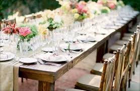 Unique Backyard Wedding Ideas by Unique Table Settings For Weddings With Outdoors Backyard Wedding
