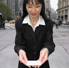 Japan Business Card Etiquette Examples U2013 Japanese Business Resource