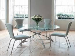 Acrylic Dining Room Table Acrylic Thick Dining Top Six Grey Chair Contemporary Room Set Six